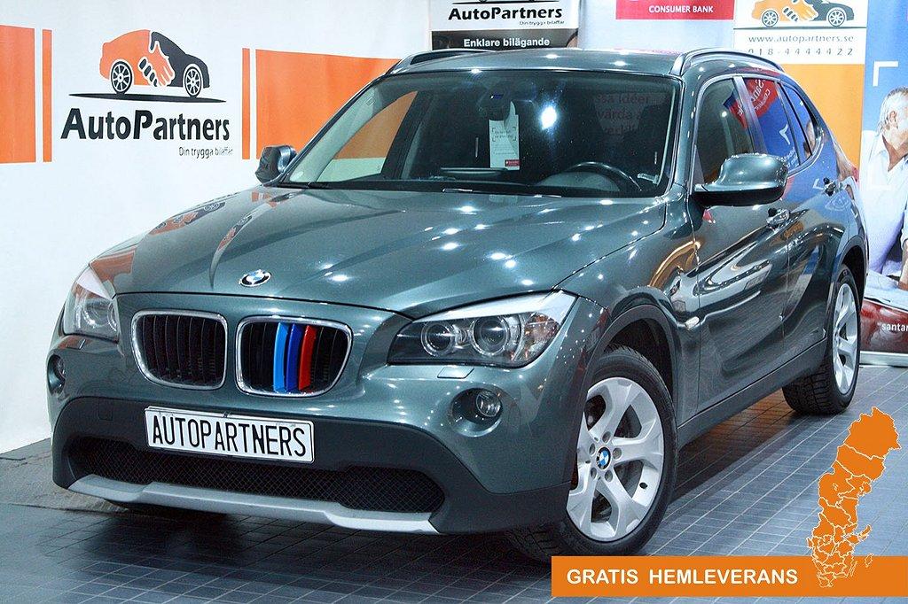 BMW X1 xDrive GPS DRAG LÄDER UNIKT!