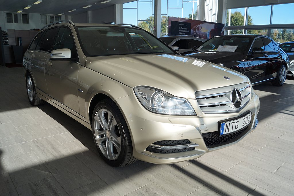 Mercedes-Benz C 220 Kombi CDI BlueEFFICIENCY 170hk