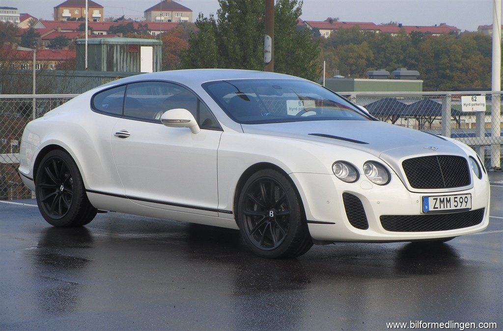 Bentley Continental GT Supersports 4WD
