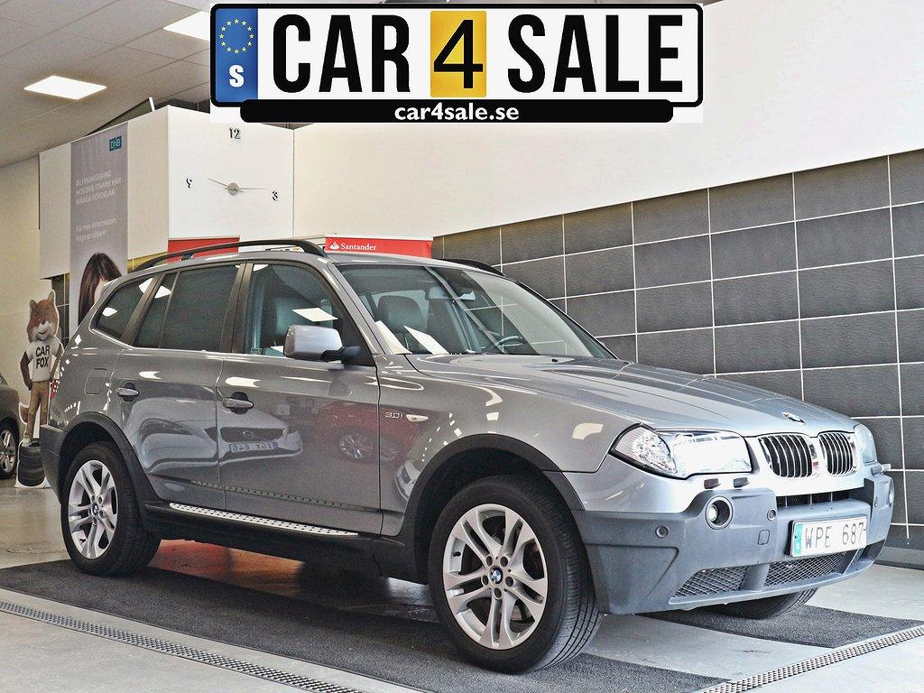 BMW X3 3.0i Automat 231hk AWD / Drag / PDC / SoV / Skinn