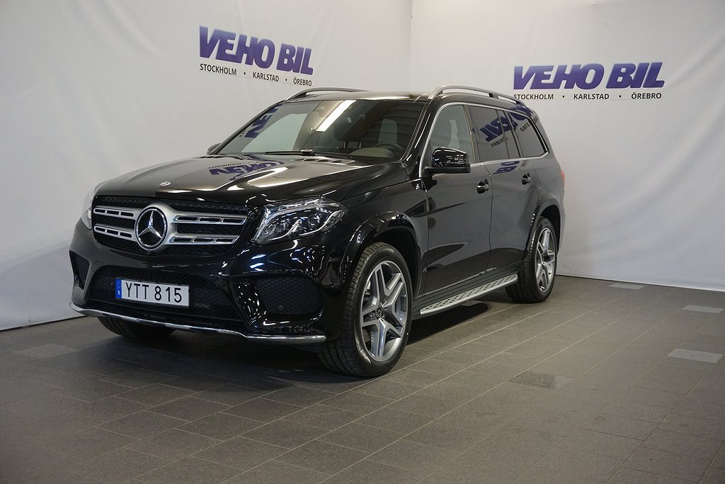Mercedes-Benz GLS 350d 4-Matic 9G-Tronic Designo, AMG  Exclusive her Euro 6 7-sits