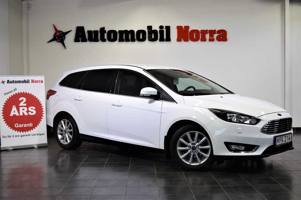 Ford Focus 1.0 EcoBoost (125hk) Auto Dragkrok