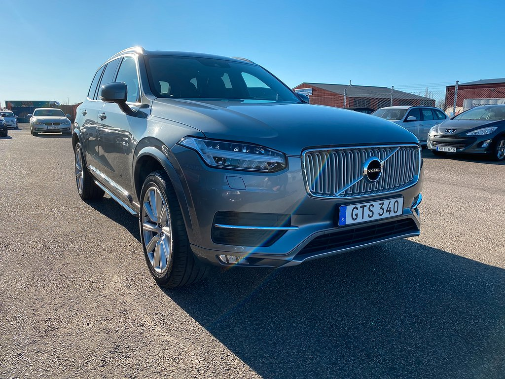 Volvo XC90 D5 AWD Geartronic Inscription 7-sits 225hk Panorama