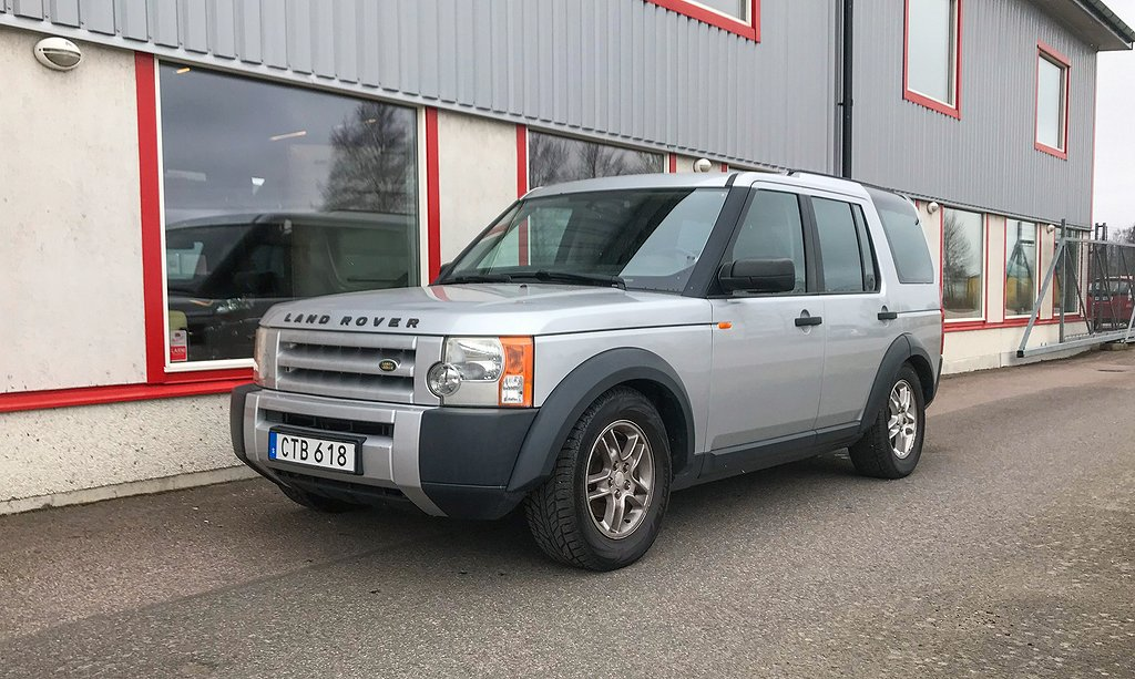 Land Rover Discovery 3 2.7 TDV6 S 6-vxl 4WD 190 Hkr Diesel