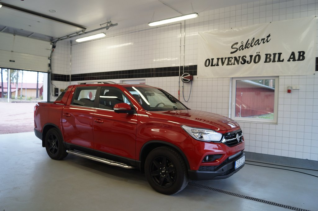 SsangYong Musso 2,2 XDI EX AUT 4WD 180HKR