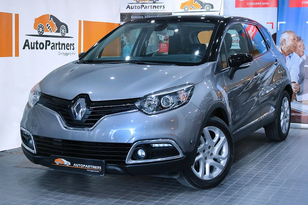 Renault Captur 1.2 TCe DCT 120hk KEYLESS GPS M.VÄRM 1-ÄGARE