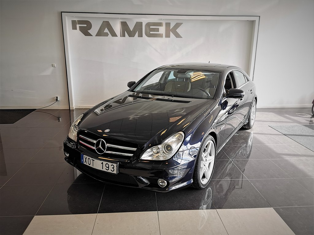 Mercedes-Benz CLS 63 AMG 7G-Tronic 514hk
