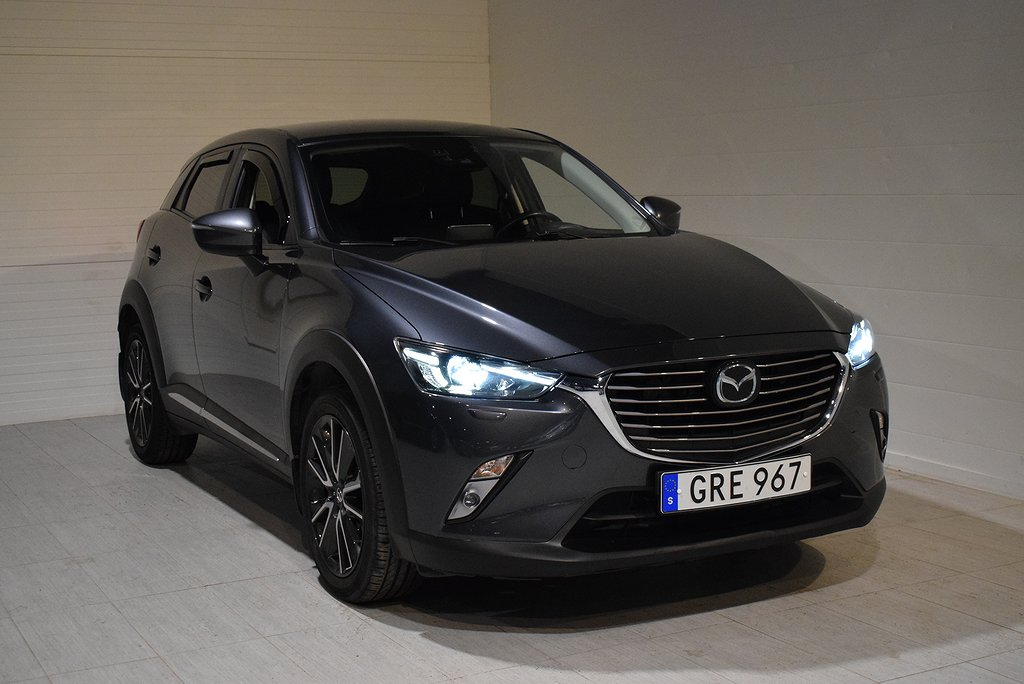 Mazda CX-3 2.0 AWD Aut Optimum (Backkamera, 2015