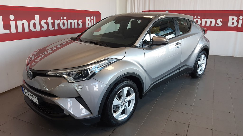 Toyota C-HR 1,2T MAN 2WD ACTIVE