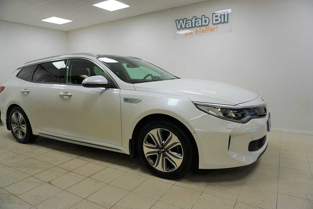 Kia Optima SW plug in hybrid Plus paket 2,  Drag,  Mv/Kupe