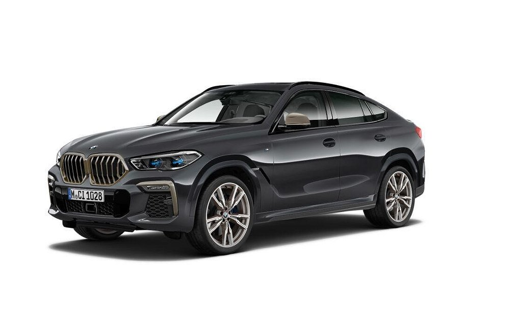 BMW X6 M50d Innovation Panorama Värmare Night Vision Drag