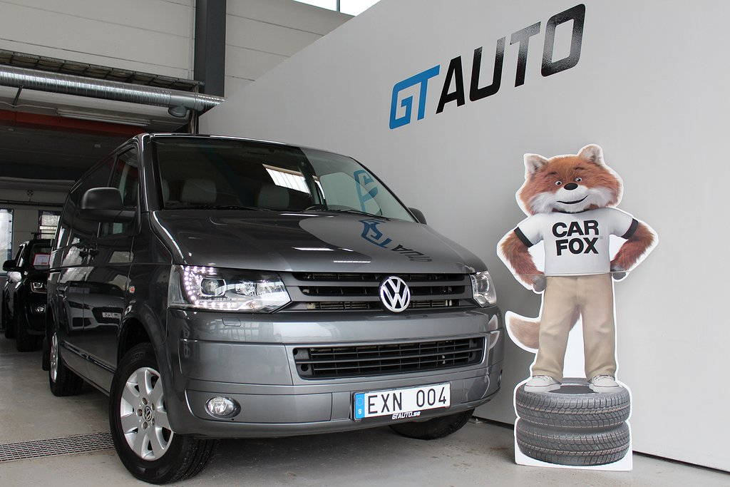 Volkswagen Transporter 4-Motion Fullutrustad Leasbar