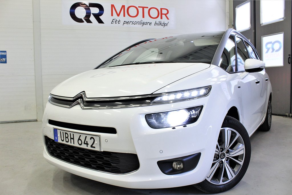 Citroën C4 Grand Picasso Exclusive 1.6 HDi EGS 7-sits 114hk