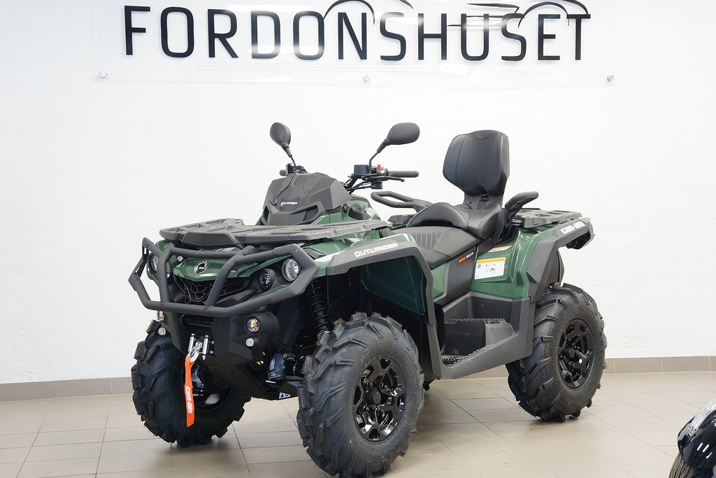 Can-Am OUTLANDER 570 MAX XU+ T3B ABS FINNS I LAGER