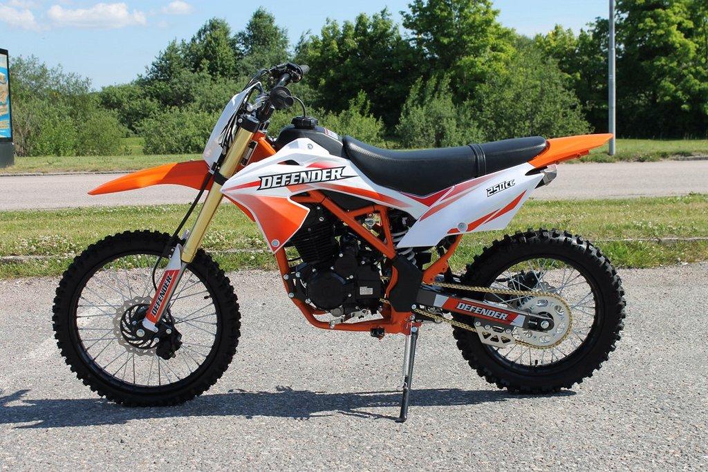 Brantech Racing Cross 250cc 31 Defender 19/16 hjul Orange
