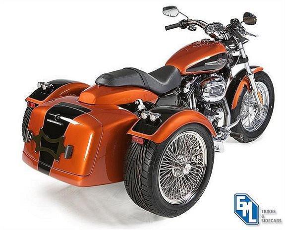 Harley-Davidson sporster trike kit