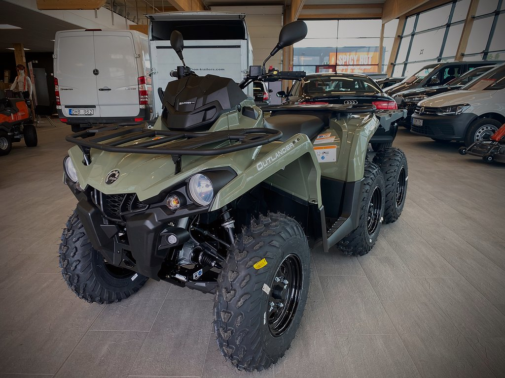 Can-Am Outlander 6X6 450 T Just nu 89 900:- !