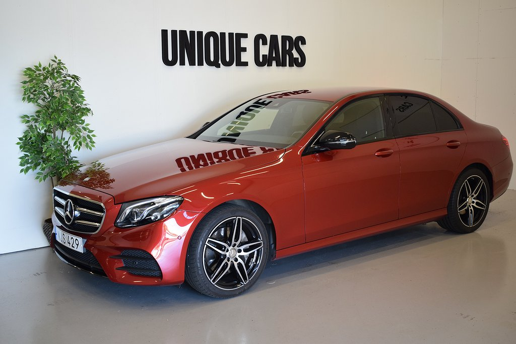 Mercedes-Benz E 220d 194hk AMG Night Navi EU6