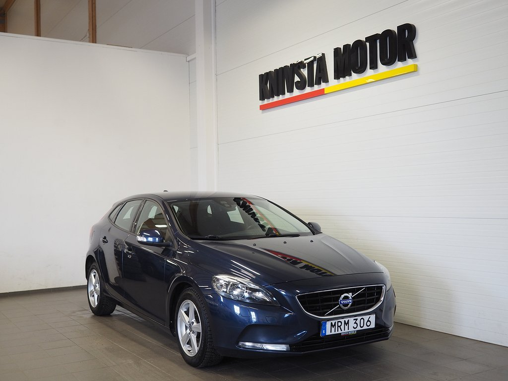 Volvo V40 D2 Aut Kinetic 115hk 2015