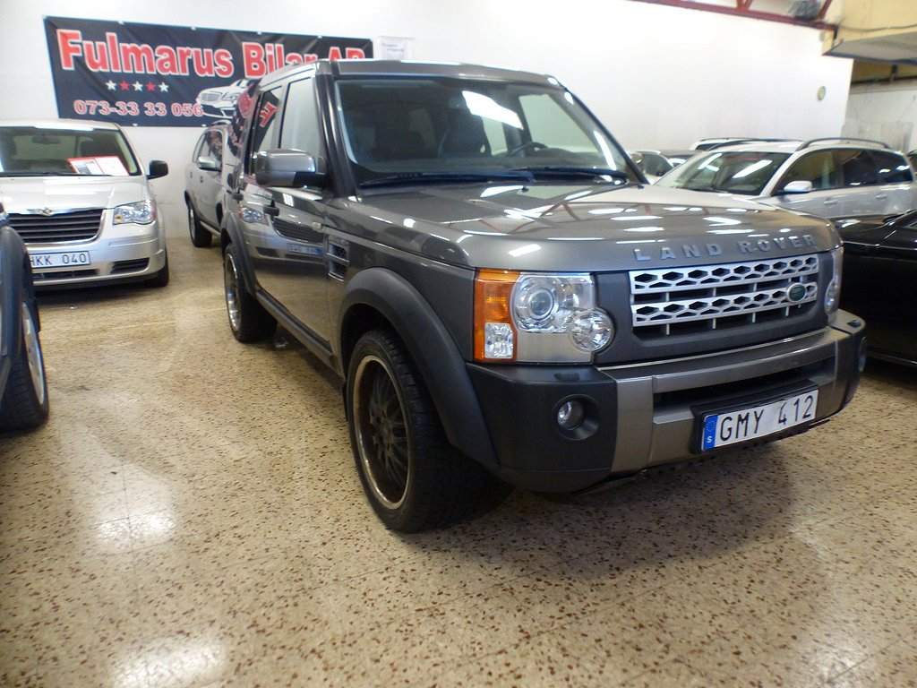 Land Rover Discovery 2.7 TDV6 4WD Automat 190hk