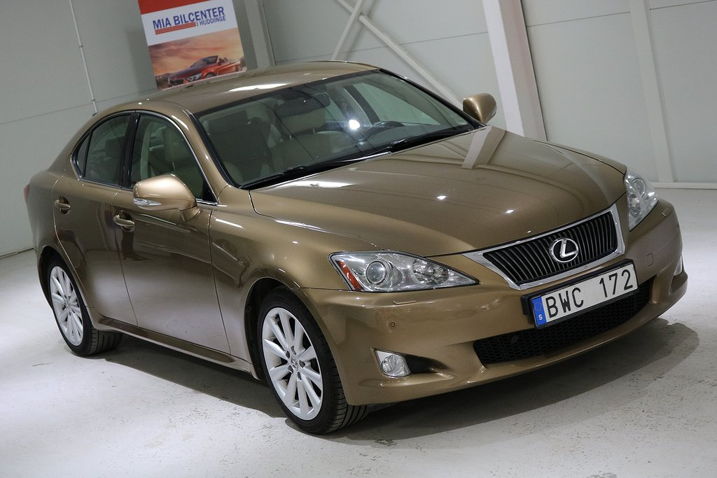 Lexus IS 250 2.5 V6 Automat Luxury 208hk