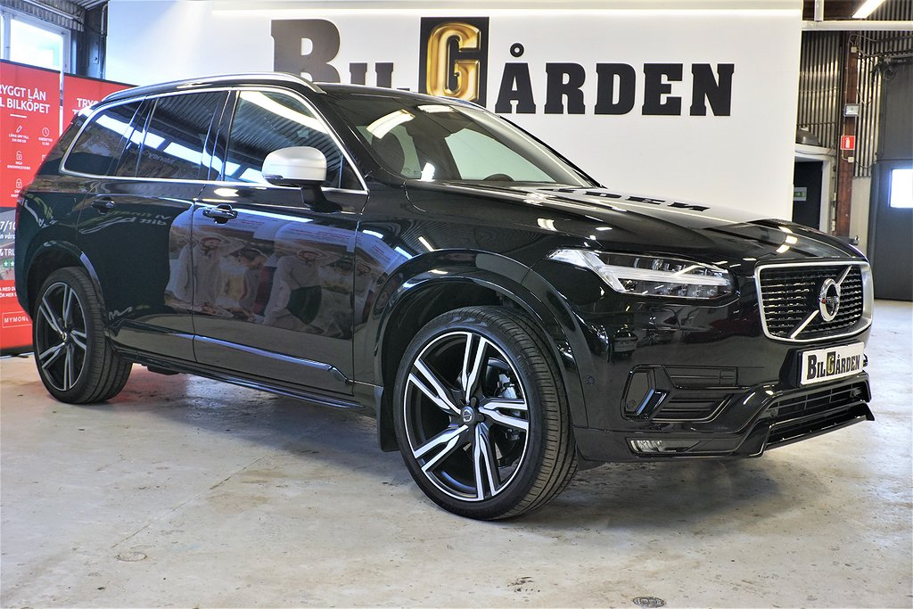Volvo XC90 D5 AWD Geartronic R-Design Euro 6 7-sits 235hk