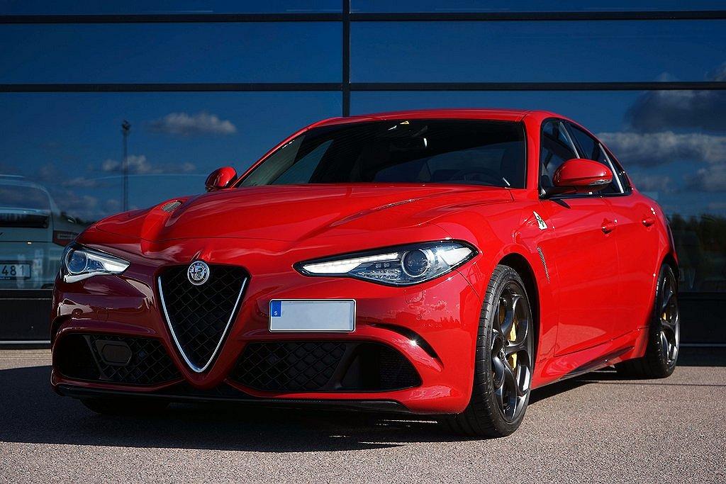Alfa Romeo Giulia Quadrifoglio 510hk / Sv.såld / OBS SPEC! /