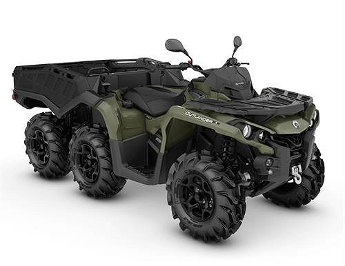Can-Am Outlander 650 6*6 PRO T