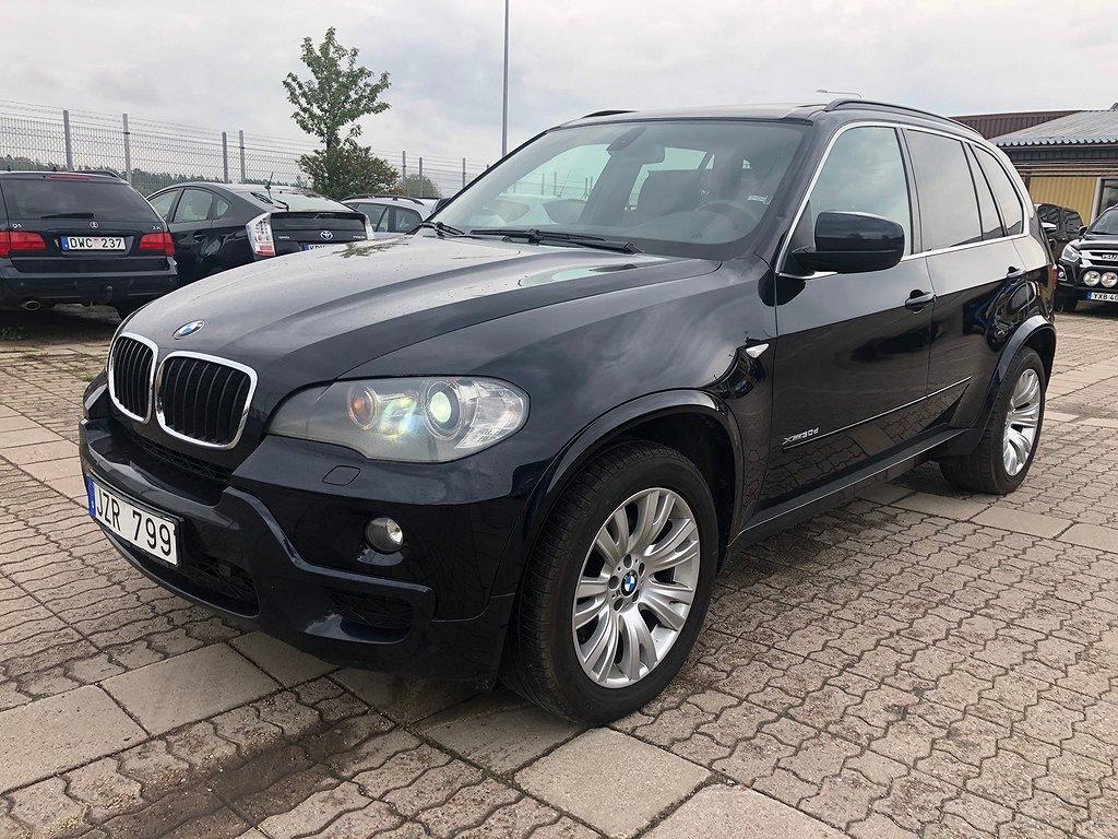 BMW X5 dA xDRIVE M-SPORT PANORAMA LÄDER 2-ÅRS GARANTI