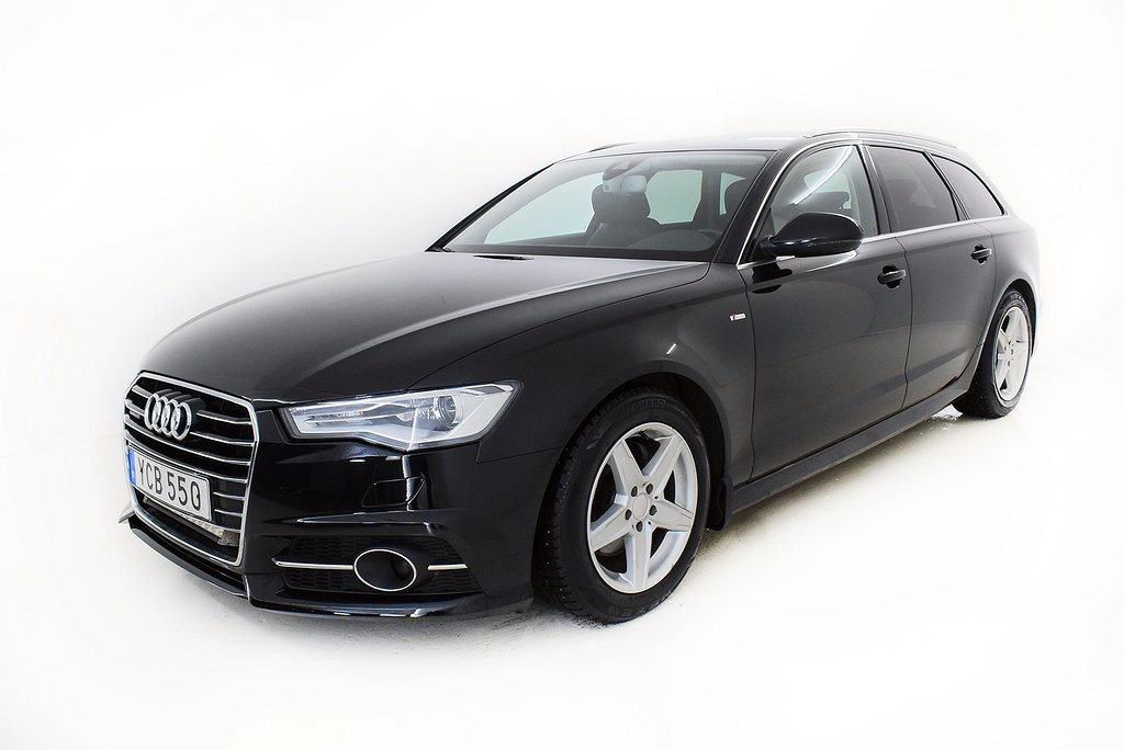 Audi A6 2.0 TDI Q S Tronic S-line Edition Dragkrok