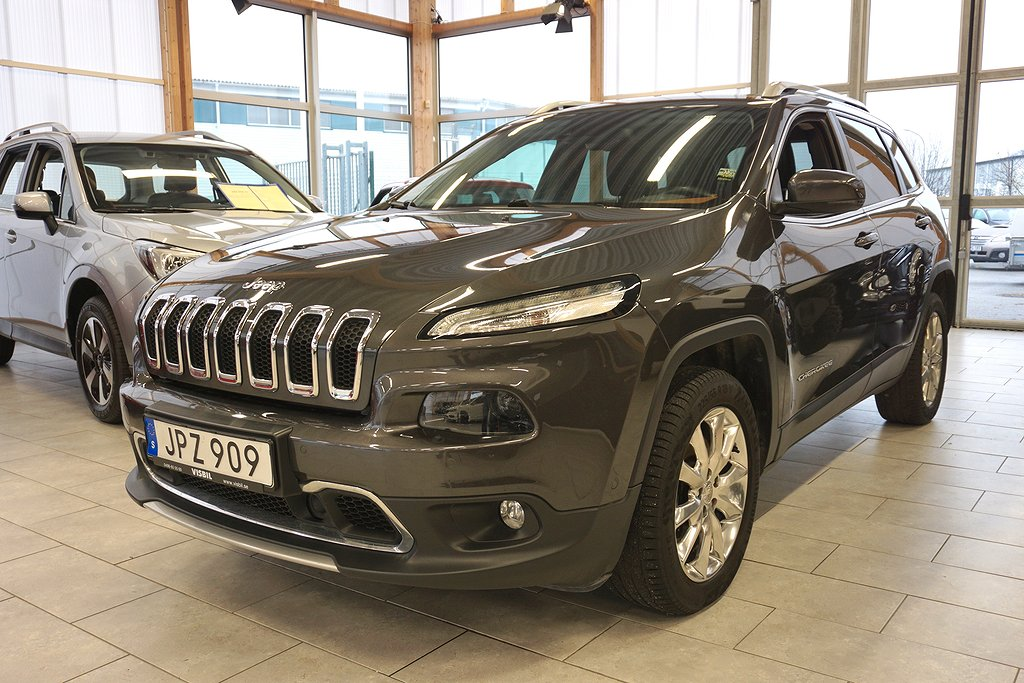 Jeep Cherokee 2.0 CRD 4WD Automat 170hk