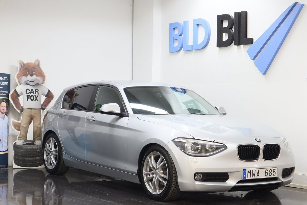 BMW 116 d AUX NYSERVAD PDC ISOFIX NYBES 116HK