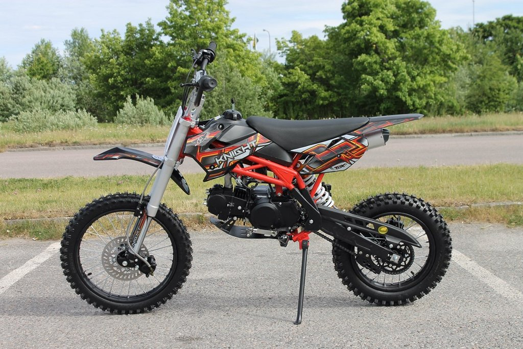 Dirtbike Cross 125cc - MD-125 Knight ToX Edition 17/14