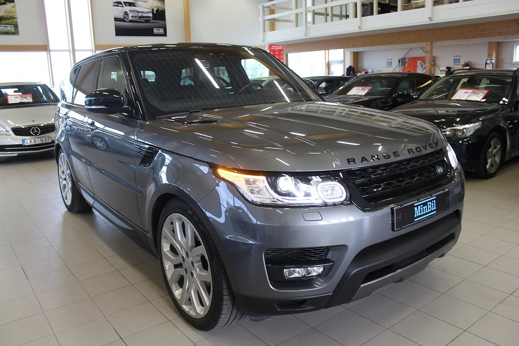 Land Rover Range Rover Sport 3.0 TDV6 4WD AUT PANORAMA 258HK