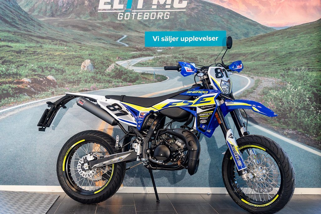 Sherco 50cc FACTORY SM-RS - Elit Mc