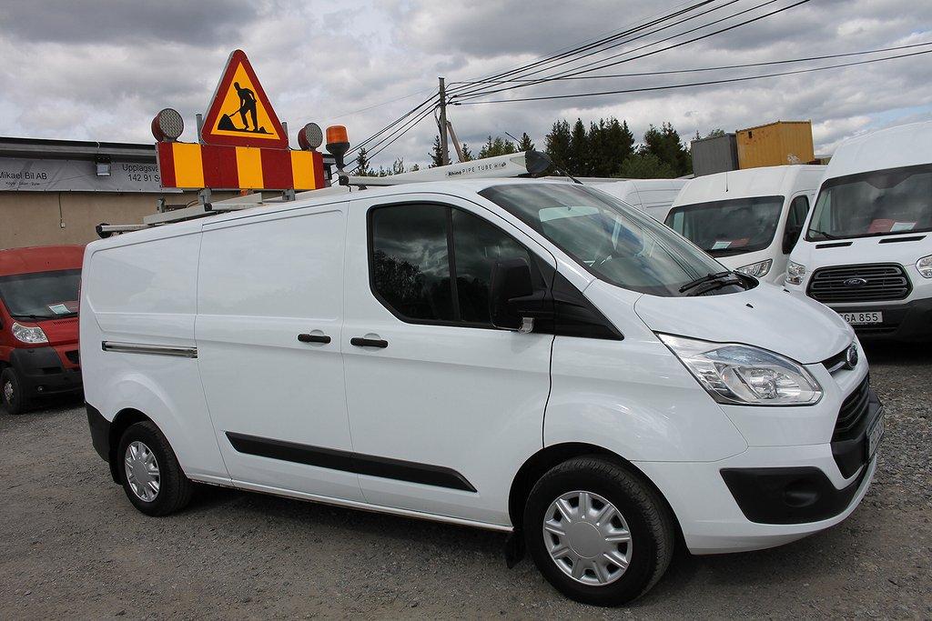 Ford Transit Custom 2.2 Lång V-Inredd*