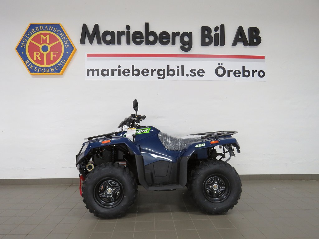 Arctic Cat Alterra 450cc 4WD -NYHET- T3B/Drag/Vinsch