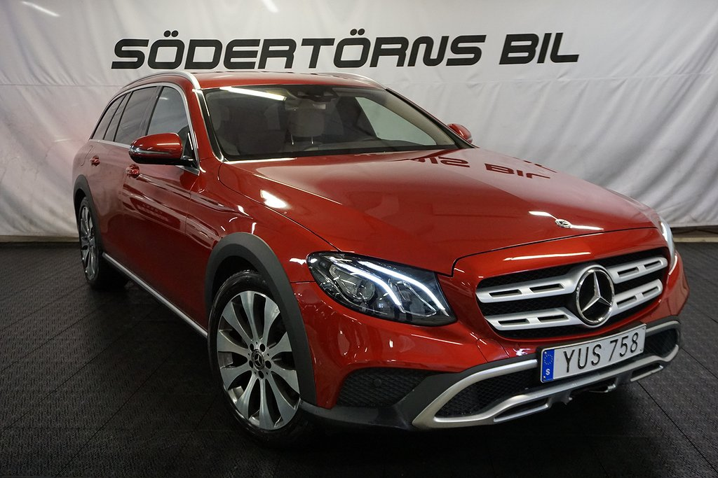 Mercedes-Benz E E220-d/All-T/4MATIC/AUT/NAVI/DRAG/VÄRMARE/194HK