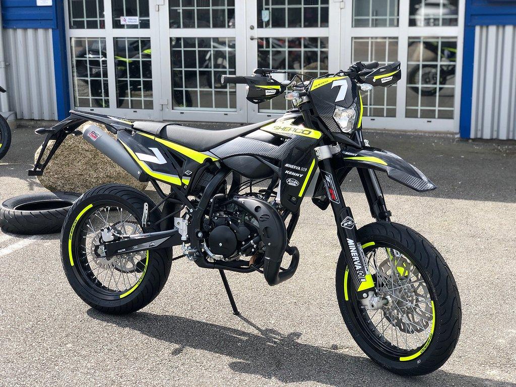 Sherco SM RS 50cc Svart