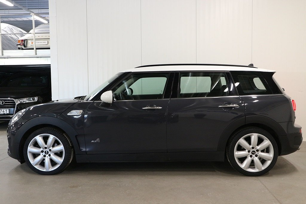 Mini Cooper S ALL4 Clubman 192hk Automat Chilli