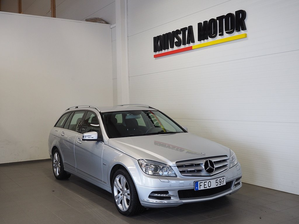 Mercedes-Benz C 250 T CDI 4MATIC 204hk (Drag) 2011