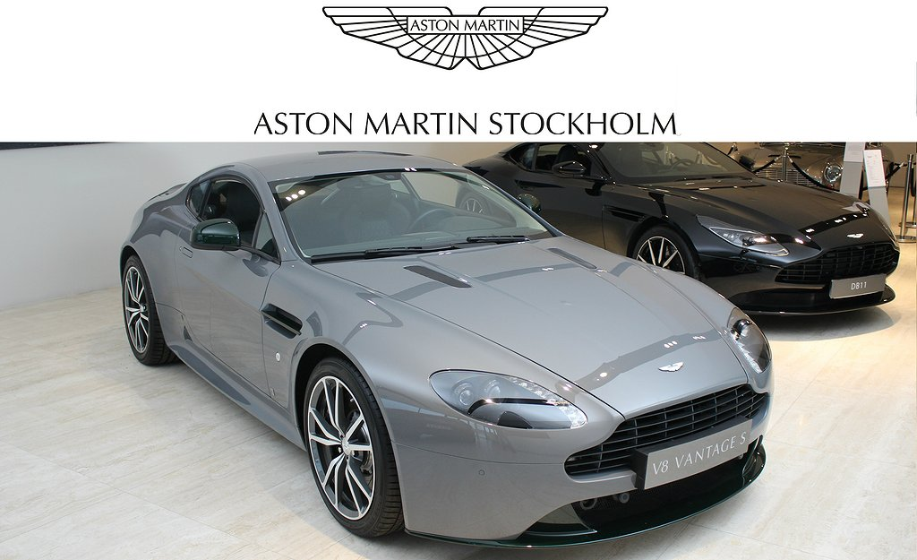 Aston Martin Vantage V8 S Swedish Forest Edition by Q Limited Edition