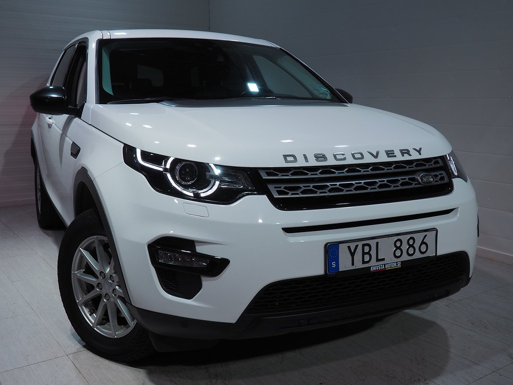 Land Rover Discovery Sport 2.0 TD4 4WD AUT 180hk Drag Pano 2016