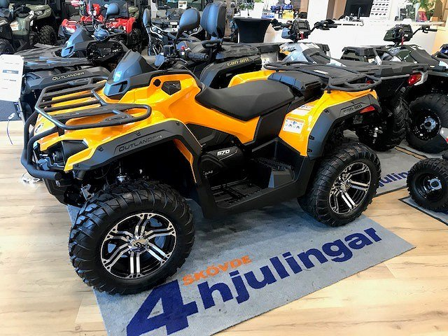 Can-Am Outlander MAX 570 DPS ABS