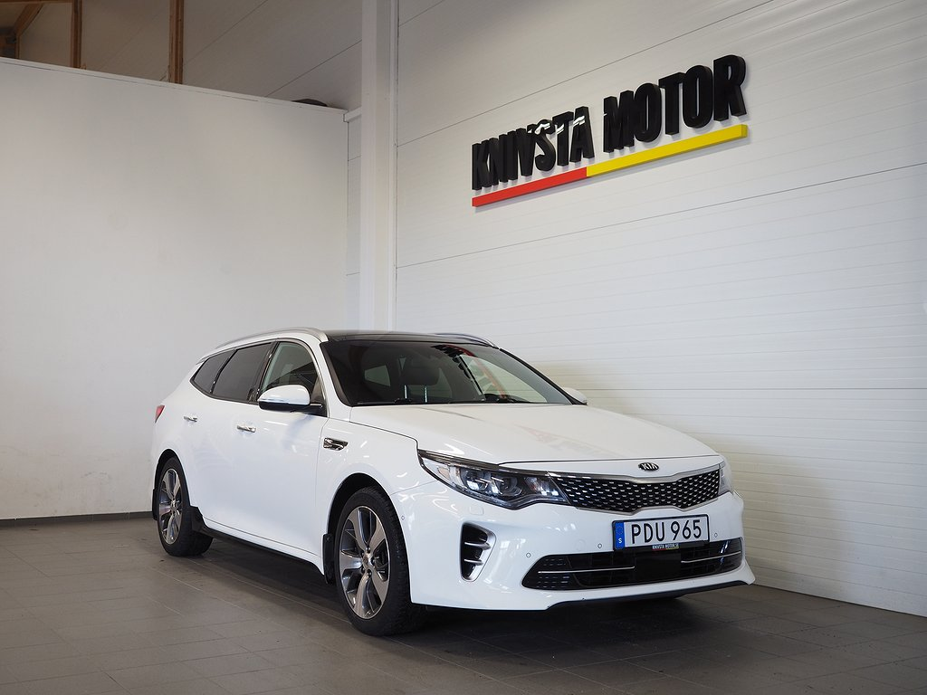 Kia Optima 1.7 GT-LINE Aut DRAG 141hk 2017