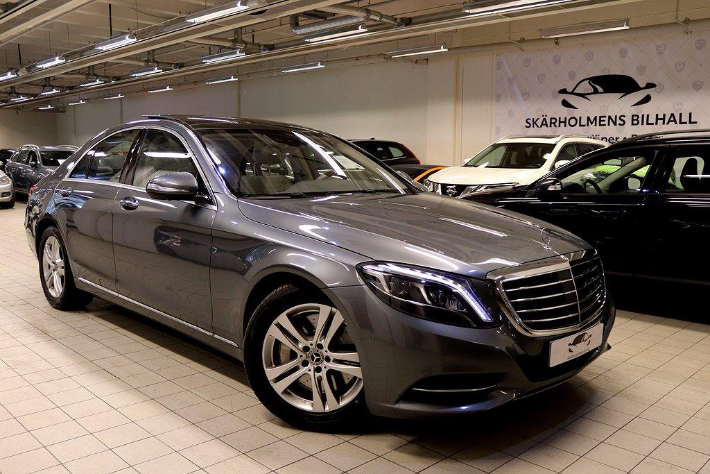 Mercedes-Benz S 500 4MATIC PLUS SVENSK MAX UTR