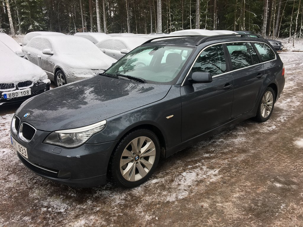 BMW 520 d Touring 177hk Drag