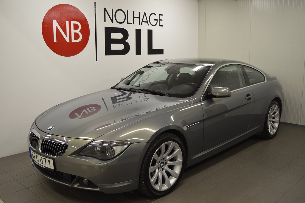 BMW 650 i Coupé Automat Dynamic (367hk)