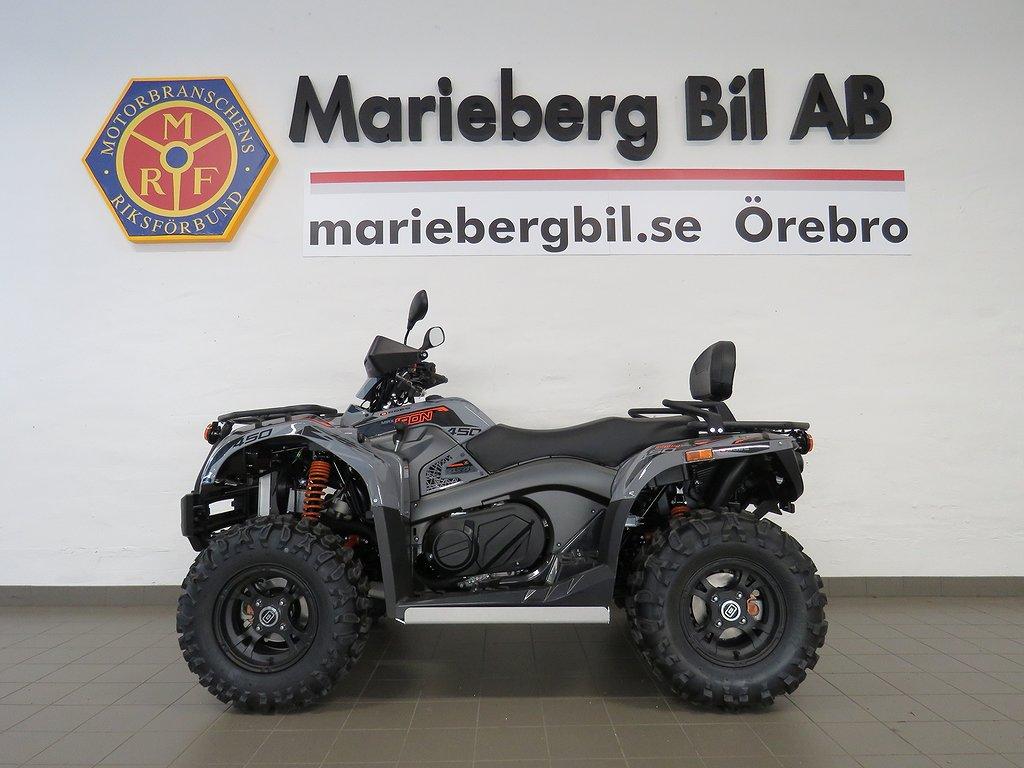 Goes IRON MAX 4WD ATV Hasplåt/Drag/Vinsch