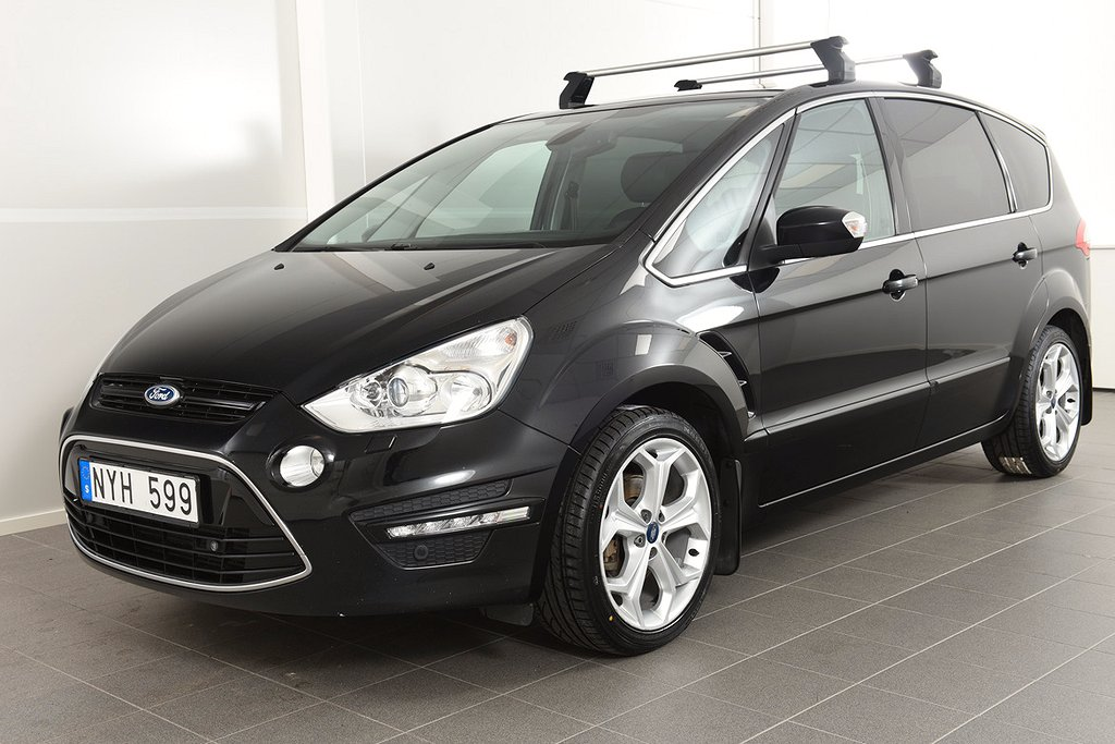 Ford S-Max 2,2 TDCi Aut Business 7-sits / Panorama / 200hk